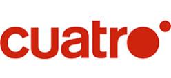 Logo de Cuatro