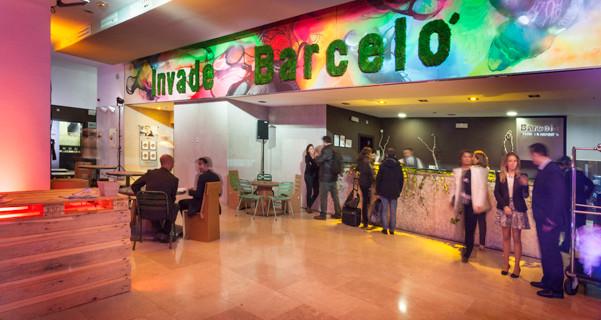 Invadiendo el Hotel Barceló